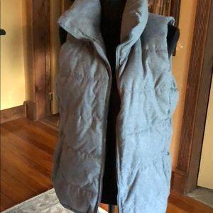 Grey Puffer Vest